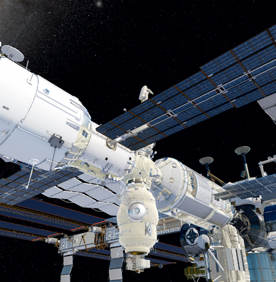 Laser Systems controlled extravehicular activity of the astronauts with the help of the developed software